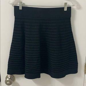 Club Monaco black knit skirt
